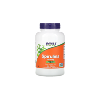 Spirulina em Tabletes 500mg NOW Foods